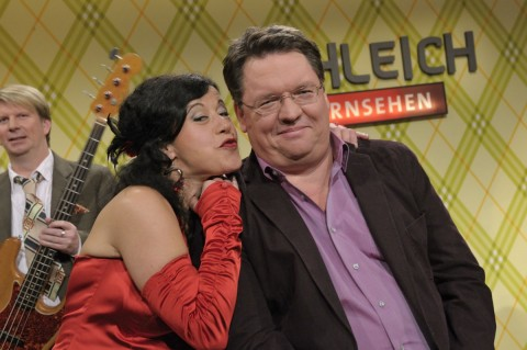 SchleichFernsehen, Conny Kreitmeier und Helmut Schleich