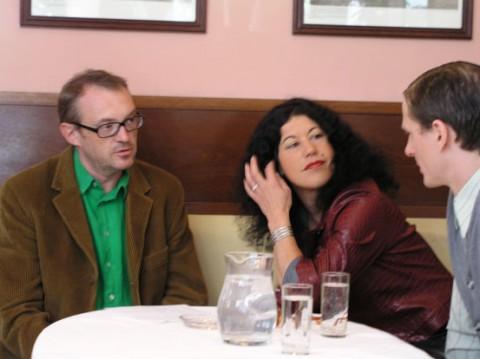 Dreharbeiten mit Josef Hader in Wien (2005)